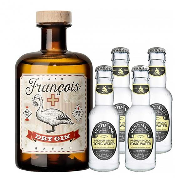 François_Hanau_Dry_Gin_and_Fentimans_Premium_Indian_Tonic